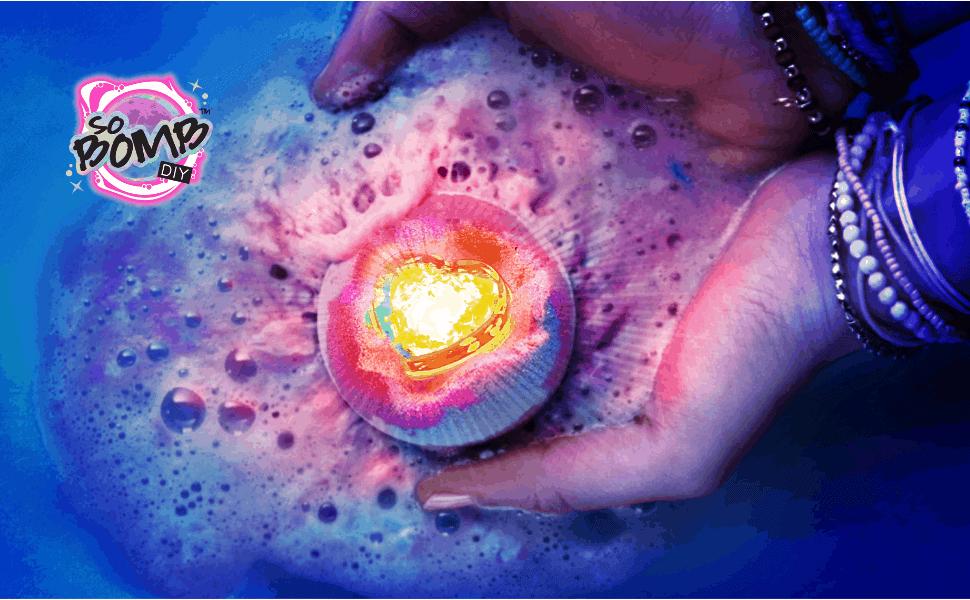 So Bomb DIY light's up bath times!