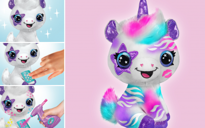 Airbrush Plush, the plushie toy that you can decorate!